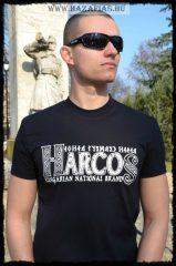 HARCOS-HNB póló-fekete