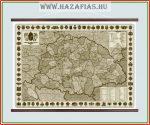 A Magyar Szent Korona országai - 1914 antik