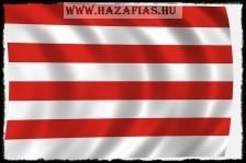 Árpádsávos zászló kültéri 150x90 AKCIÓS
