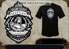 Hunyadi Mátyás póló fekete