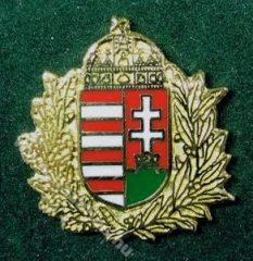 Lombos magyar címer,  23 mm-es