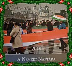 A Magyar Trikolór 2019 naptár