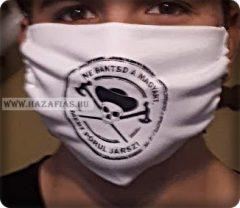 Ne bántsd a magyart maszk-fehér 1
