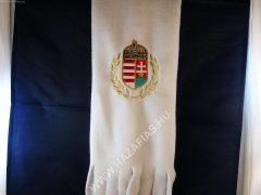 Polár sál címeres fehér