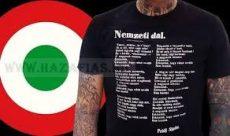 A Nemzeti Dal Ünnep hivatalos pólója- ROMER