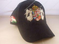 Sapka Angyalos címer-fekete