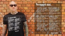 Nemzeti dal női póló karcsúsított változatban- ROMER