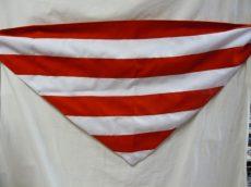 Árpádsávos kendő, színenként varrott, dupla