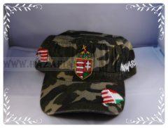 Sapka címeres terepszínű-military