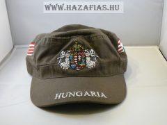 Sapka Angyalos címerrel militari zöld