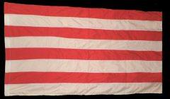 Árpádsávos zászló színenként varrott, dupla 60*90 cm. /piros, fehér/
