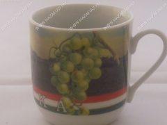 Pálinkás pohár-porcelán