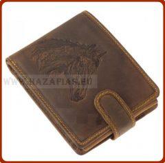 Bőr pénztárca-Ló