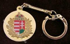Kulcstartó, Lombos címer, arany szín