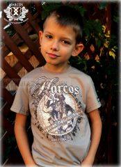 HARCOS-Kürtös gyerekpóló-Pogy29