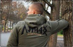 Magyar Harcos pulóver-khaki