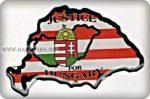 Matrica Nagymagyarország-Igazságot, műgyantás