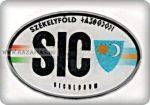 Matrica Székelyföld SIC, műgyantás