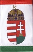 Zászló nemzeti színű 40*60 cm