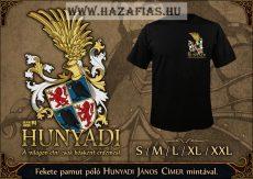 Hunyadi póló fekete