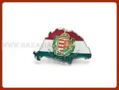 Kitűző-Magyarország, lombos címer,nagy-T