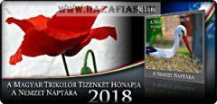 A Nemzet Naptára-A Magyar Trikolor Tizenkét Hónapja 2018