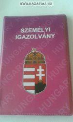 Személyi Iratok rózsaszín címeres